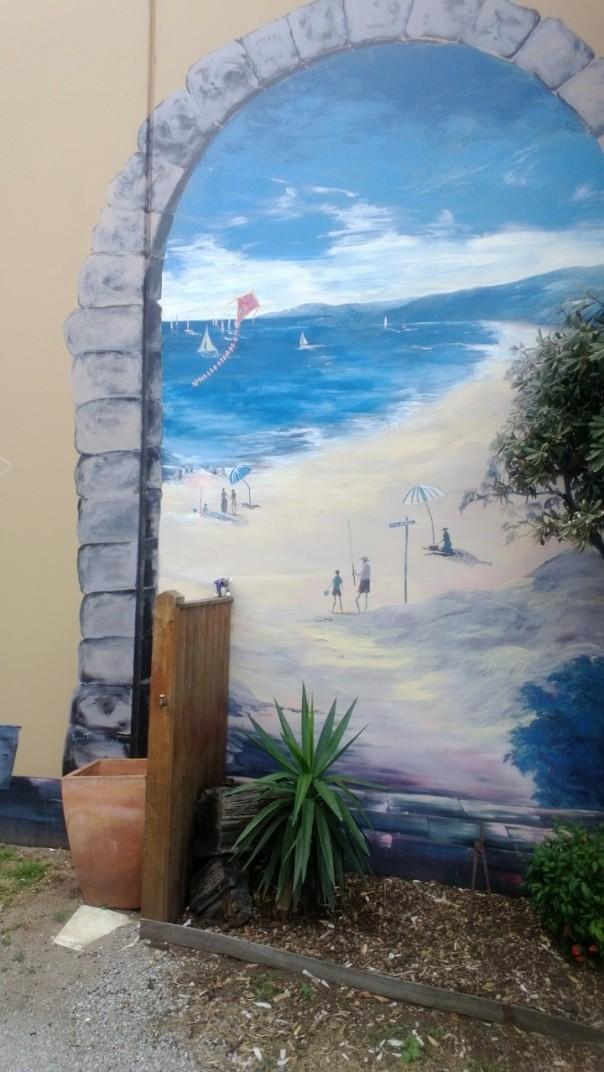 Rhyll murals Phillip Island Victoria
